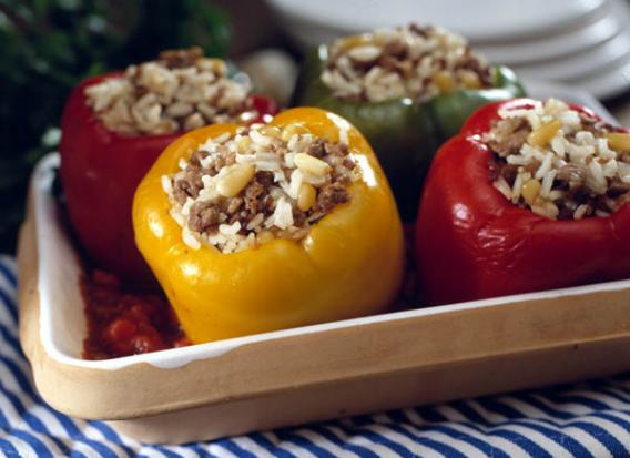 Как приготовить фаршированный перец?