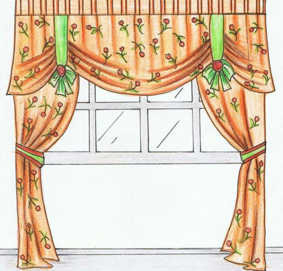 Как сшить шторы?