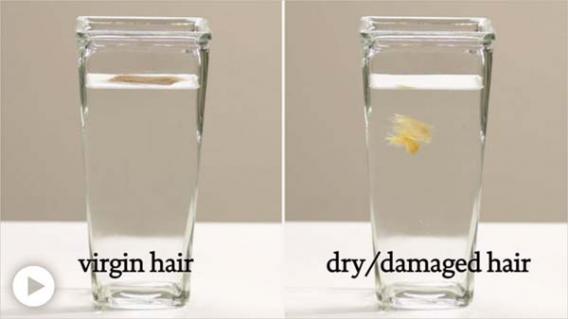 Как восстановить волосы после смывки?