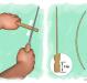 Как сделать лук в домашних условиях?