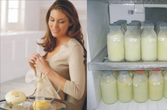 Как хранить сцеженное грудное молоко?