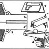 Как сделать из бумаги пистолет?