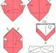 Как сделать коробочку оригами?