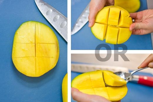 Как есть манго?