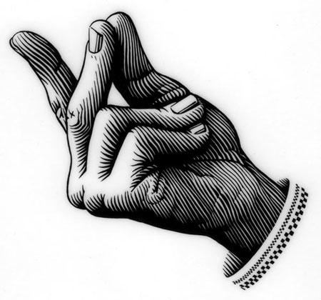 Как щёлкать пальцами?