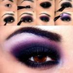 Макияж. Цвет Фиолетово-аметистовый
