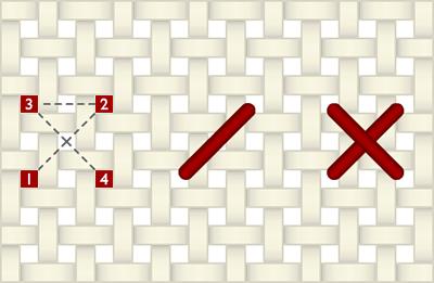 Как вышивать крестиком по схеме?