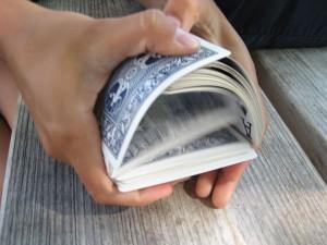 как перемешать колоду карт