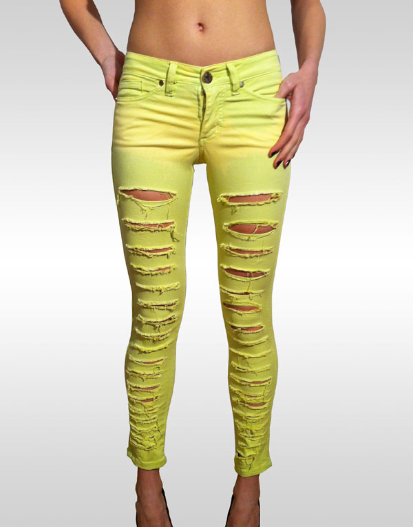 Как сделать красиво рваные джинсы?