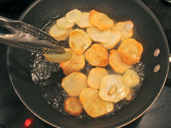 Как сделать чипсы в домашних условиях?