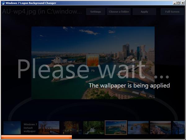 Как поменять экран приветствия Windows 7?