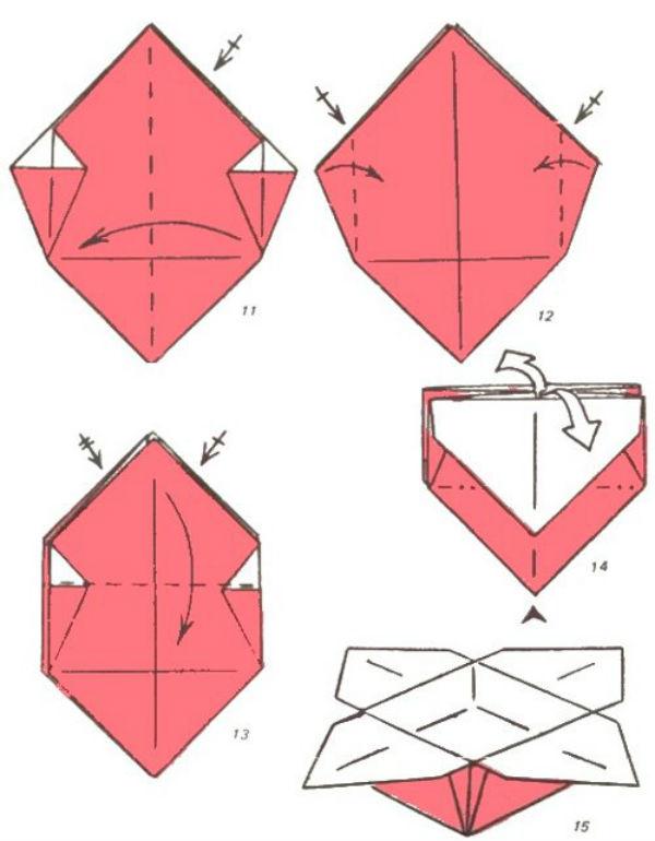 Как сделать машину оригами из бумаги 160