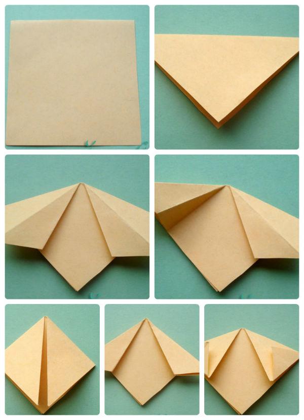 Как сделать цветок оригами?