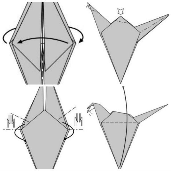Как сделать оригами дракона?